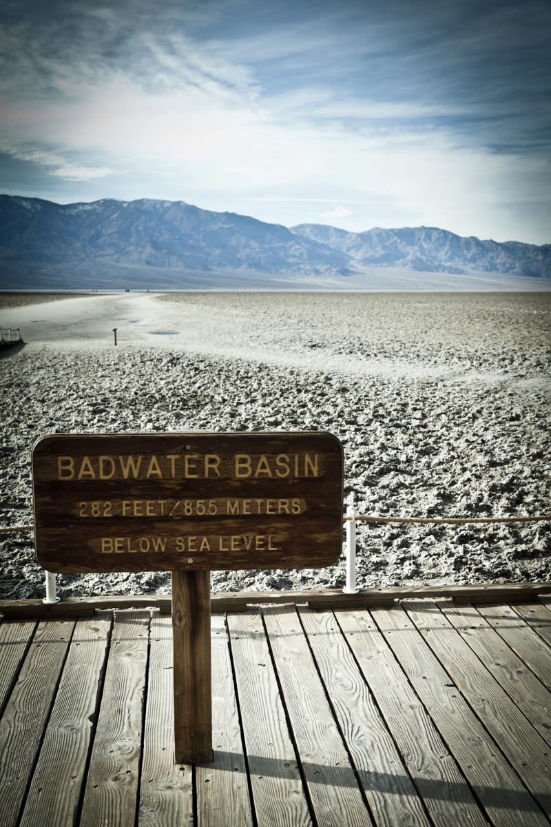 Badwater Basin, Death Valley California